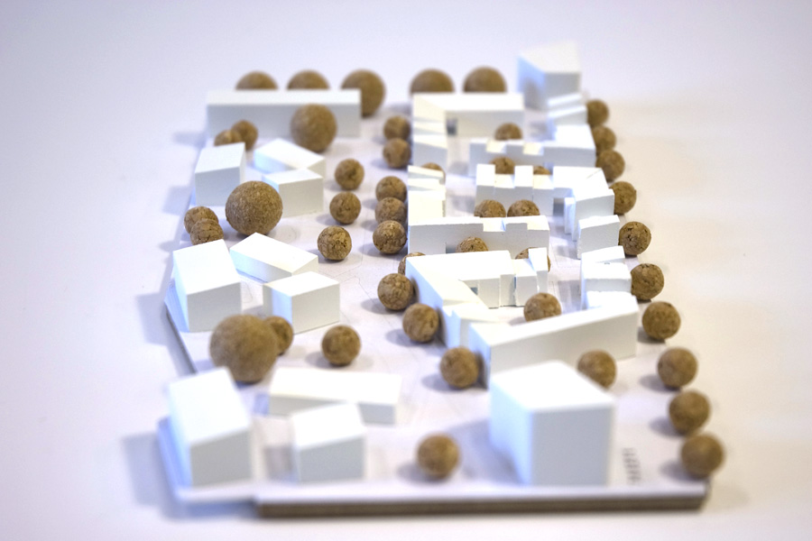 Cluster houses